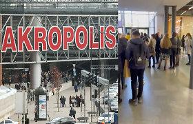 """Pranešta apie sprogmenį Kauno """"Akropolyje"""": evakuoti apie 3 tūkst. žmonių"""