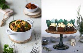 auGalingas iššūkis: ryžiai su tofu ir džiovintais pomidorais bei labai šokoladiniai keksiukai