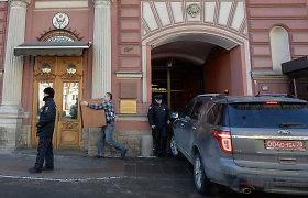 JAV sustabdė konsulinių paslaugų teikimą Rusijoje