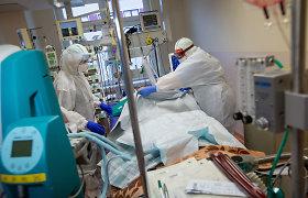 Daugėjant COVID-19 atvejų nerimo dėl ligoninių lovų trūkumo nėra, nors Šiauliuose liko tik keturios laisvos lovos