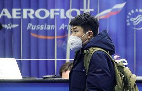 """""""Aeroflot"""" informavo keleivius apie skrydžių į Taliną atšaukimą"""