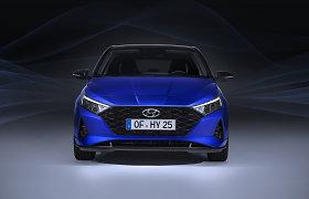 """""""Hyundai i20"""" bus didesnis ir sportiškesnis: atskleidė ir daugiau galimybių"""
