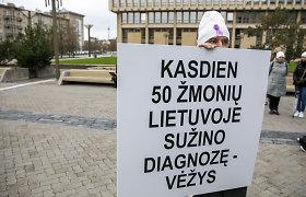 Su vėžio diagnoze Lietuvoje gyvena apie 110 tūkst. žmonių: išgyvenamumo rodikliai vis dar per maži