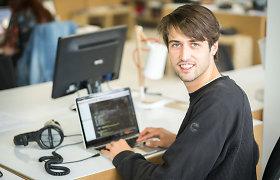 Programinės įrangos kūrėjai iš Italijos darbui renkasi bendradarbystės erdvę Lietuvoje