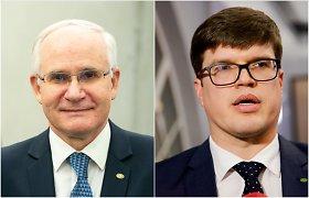 A.Monkevičius sako pasiūlęs T.Daukantui vadovauti naujai įkurtam departamentui