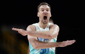 """Į pusfinalį su trenksmu nuskrieję slovėnai: """"Turbūt visa šalis žiūrėjo šias rungtynes"""""""