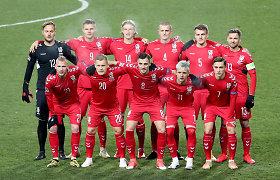 Istorinėse rungtynėse – veidu į purvą: Lietuvos futbolo rinktinė sutalžyta Kosove
