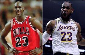 LeBronas ar MJ? ESPN išrikiavo geriausių visų laikų žaidėjų sąrašą