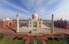 Pasaulis gūžtelėjo pečiais: Tadž Mahalas nepateko į Indijos turizmo brošiūrą