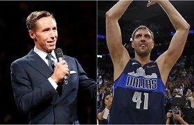 """""""Nets"""" vairą perėmęs S.Nashas į trenerių štabą kvietėsi ir D.Nowitzki"""