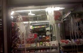 Šilalės rajone įsisiautėjo vagys – ypatingu jų taikiniu tapo prekybos kioskai