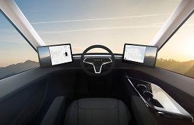 """Kada Lietuvoje išvysime """"Tesla"""" elektrinį sunkvežimį ir kiek už jį jau sumokėjo """"Girteka""""?"""