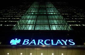 """""""Barclays"""" tapo didžiausiu investiciniu banku už JAV ribų, aplenkęs """"Credit Suisse"""""""