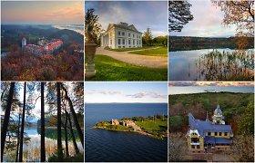 TOP 20 Lietuvos vietų, kuriomis keliautojai labiausiai domėjosi socialiniuose tinkluose