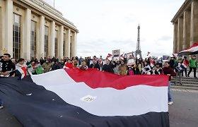 Egipto teismas nuteisė armėnę šokėją už vėliavos išniekinimą