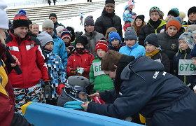 Rekordiniu dalyvių skaičiumi minima Lietuvoje minima pasaulinė sniego diena
