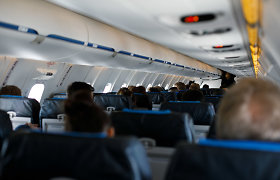 Dėl audros Vilniuje negalėjo nusileisti lėktuvai: skrydžiai buvo nukreipti į kitus oro uostus