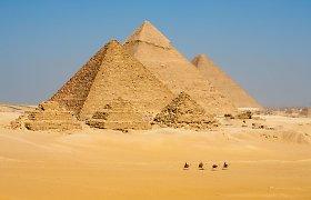 Įminta beveik idealios Egipto piramidžių orientacijos paslaptis