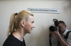 V.Vonžutaitė prašo nebekankinti jos juodosios buhalterijos byloje: teisiama trečdalį gyvenimo