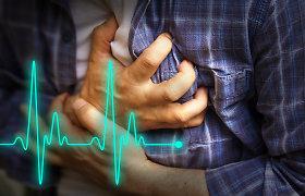 Širdies ligos ir mirtingumas: net iki 80 proc. šių ligų būtų galima išvengti pakoregavus gyvenimo būdą ir mitybą