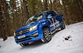 """Atnaujintas """"Volkswagen Amarok V6"""" pakėlė pikapų prabangos kartelę"""