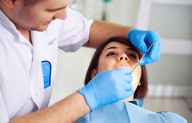 Vienas odontologas – kelios darbovietės. O kiek sumokėtų mokesčių?