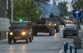 NATO ir ES ragina atkurti ramybę Makedonijoje po 22 žmonių gyvybių nusinešusio susirėmimo