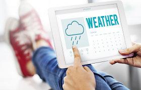 34 mln. vartotojų per metus: nuo savaitės orų prognozės iki pranešimų apie pavojingus reiškinius