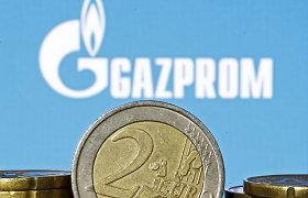 """""""Gazprom"""" metų investicijos pirminiame plane pirmąkart viršys trilijoną rublių"""