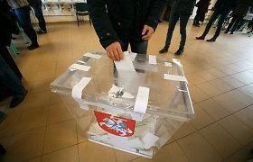 """""""Baltosios pirštinės"""": dauguma rinkimų komitetų daro politinės reklamos pažeidimus"""