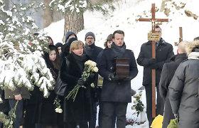 Vilniaus Antakalnio kapinėse palaidotas architektas, Editos Mildažytės vyras Gintautas Vyšniauskas