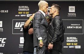 Dėl UFC čempiono titulo kausis brazilas ir amerikietis