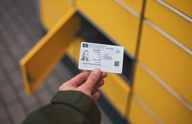 Telšiškis policijai pateikė suklastotą britišką vairuotojo pažymėjimą