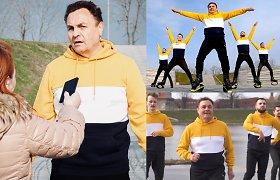 """Pagal dainą """"Kas nešokinės"""" su kitais vyrais šokęs P.Gražulis sudomino policiją ir Seimo etikos sargus"""