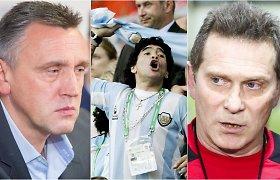 "Lietuvos futbolo legendos sukrėstos D.Maradonos mirties: ""Jis buvo sutvertas futbolui"""