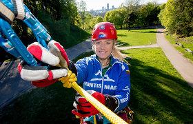"""Viena tarp vyrų. Alpinistė V.Tūbutytė: """"Einu į kalnus dėl jausmo, kurį galiu patirti tik ten"""""""