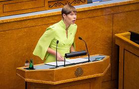 Estijos prezidentė tikisi, kad referendumas santuokos klausimu neįvyks