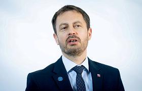 Slovakijoje prisaikdinta nauja vyriausybė