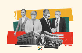 """100 Seimo dienų politikų akimis: I.Šimonytei kliuvo bandymai """"patampyti"""" A.Dulkį, S.Skverneliui – pamintos opozicijos teisės"""