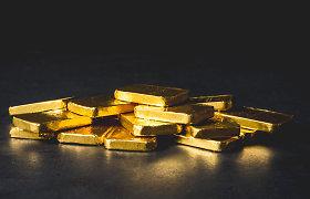 Rusija aukso eksportą pernai patrigubino