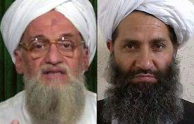 """""""Al Qaeda"""" lyderis pareiškė ištikimybę naujajam Talibano lyderiui"""