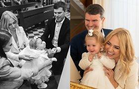 """I.Martinkėnaitė su vyru Mindaugu pakrikštijo dukrą: """"Buvo tiesiog magiška diena"""""""