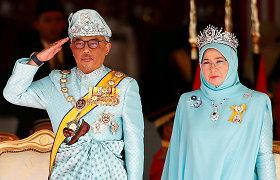 Malaizijos karalius paskyrė buvusį vicepremjerą naujuoju šalies lyderiu