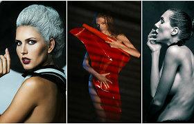 """Fotografas Viktoras Morozovas pristato intriguojantį projektą """"Oda"""": pozavo ir žinomos gražuolės"""