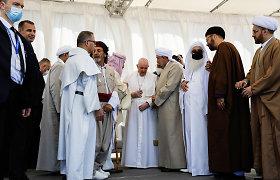 Istorinio popiežiaus Pranciškaus vizito Irake žinia: prašau solidarumo ir pagarbos