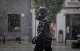 Orai.lt: Artimiausiomis dienomis bus vėsu ir erzins lietus