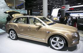 """Pristatytas greičiausias pasaulyje SUV kategorijos automobilis – prabangusis """"Bentley Bentayga"""""""