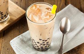 Kaip namuose pasiruošti madingosios burbulinės arbatos?