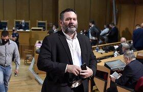 Briuselyje suimtas graikų buvęs neonacis europarlamentaras priešinasi ekstradicijai
