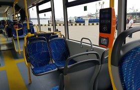 Konfliktas Klaipėdos autobuse: vairuotojas sulaukė smūgių ir ašarinių dujų
